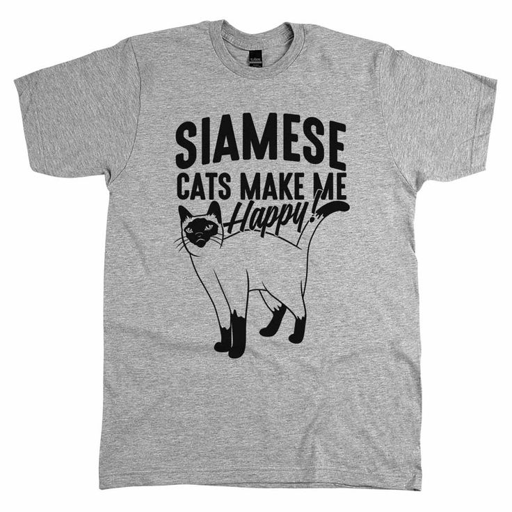 'Siamese Cats Make Me Happy'