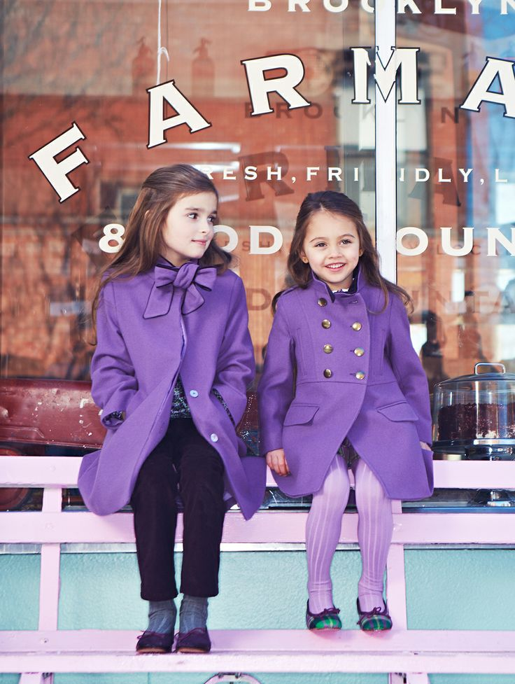 plum perfect. Oscar de la Renta childrenswear trunk show: March 11 - 13. Hours: 10am - 5pm at 772 Madison Avenue. No appointment necessary.