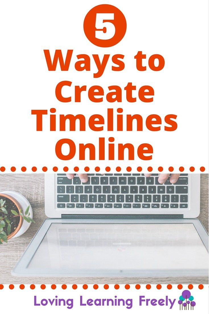 Many homeschool methods and curriculums encourage timeline creation. Check out these 5 tools digital learners can use to create interactive, multi-media timelines.