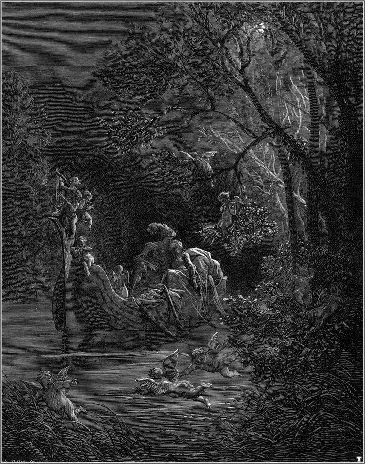 Orlando Furioso 16, Gustave Dore