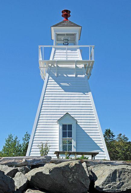 Spencer's Island Lighthouse, Nova Scotia, Canada