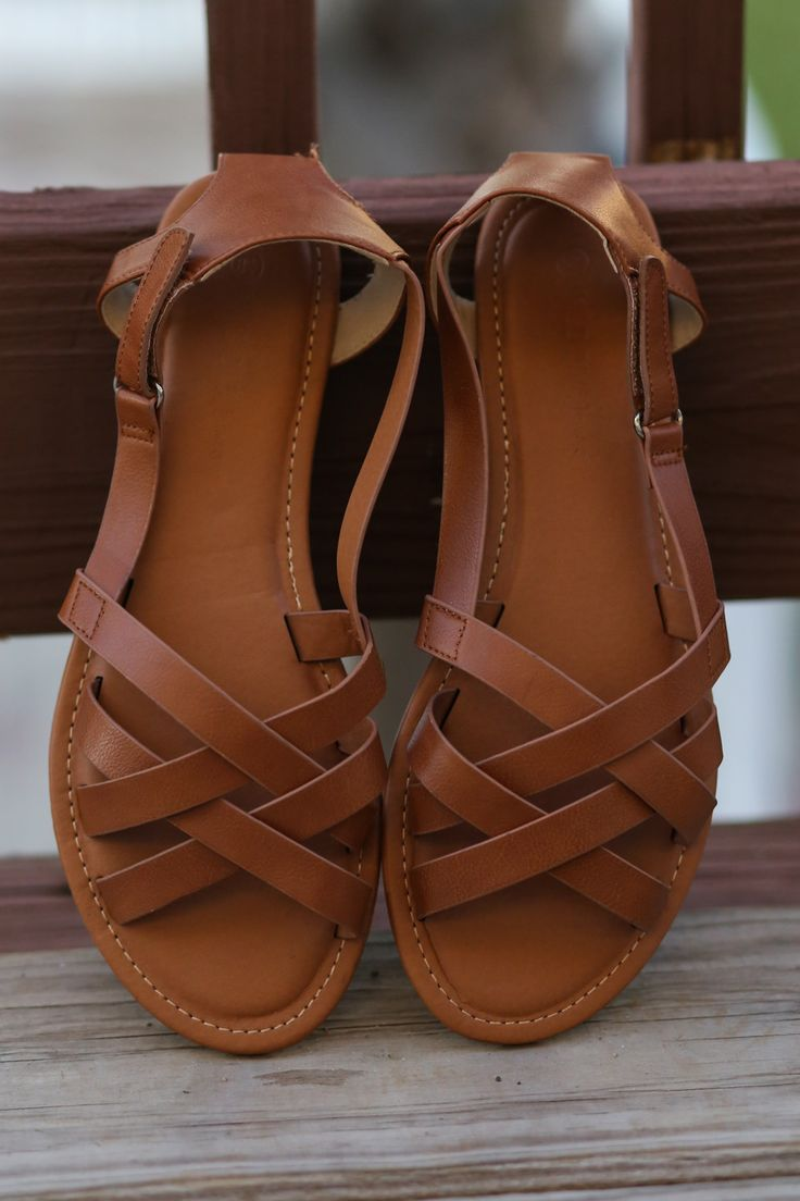 Woven Magic Whiskey Brown Sandals
