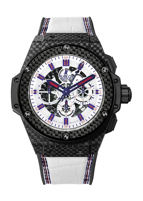 King Power London 48mm Chronograph watch from Hublot. Hublot NorthPark opens this spring!