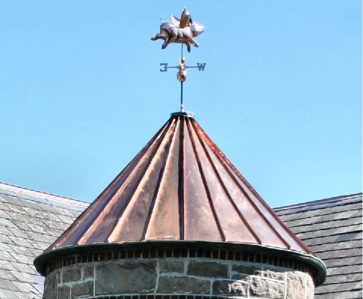 Copper Standing Seam Turret Bethlehem Pa Copper