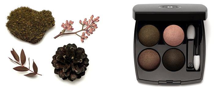 осень шанель 2015 палетка теней Chanel Eyeshadow Palette