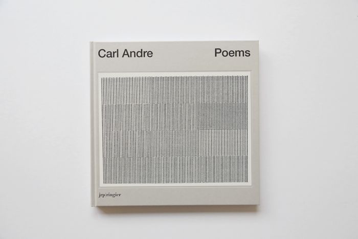 Poems by Carl Andre