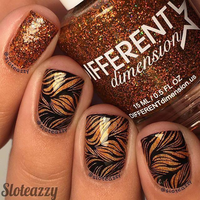 50 atemberaubende Designs für schwarze und goldene Nägel, die Sie zum Keuchen bringen – FASHION – Beauty