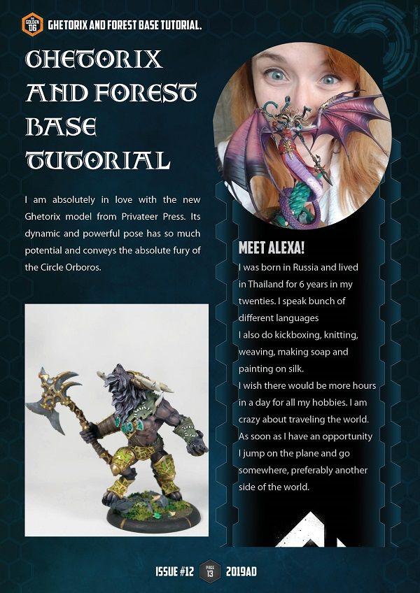 Alexa Paints Painting Tutorial Malifaux Warhammer 40k