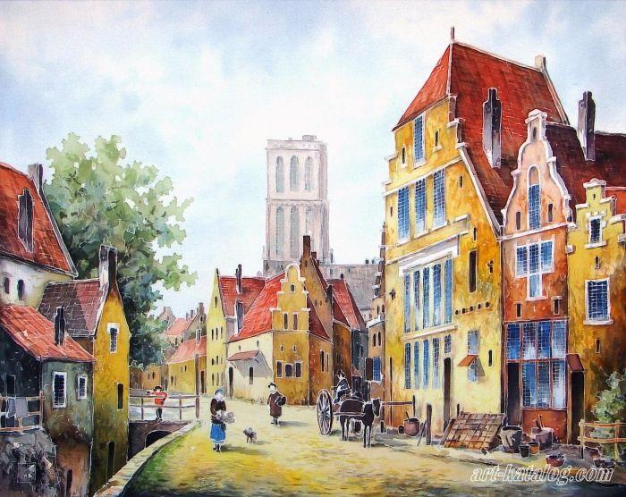 Голландия картинки для срисовки, добрым утром