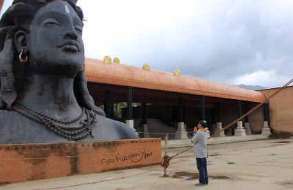 Prayer term ; the secret language Faith. Isha Yoga centre , Coimbatore.India.