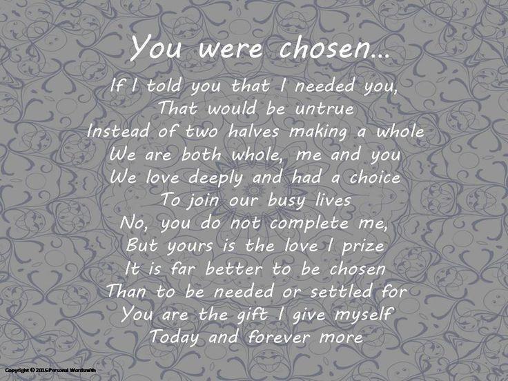 wedding poems of love - photo #32