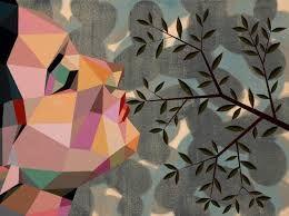 Resultado de imagen de arte con figuras geometricas