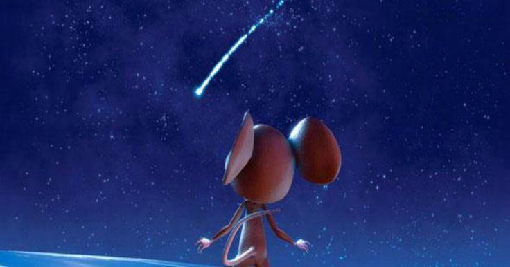 «Το ποντικάκι που ήθελε να αγγίξει ένα αστεράκι»: Ένα υπέροχο animation με την υπογραφή του Ευγένιου Τριβιζά Crazynews.gr