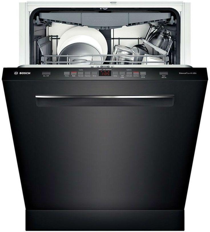 "Bosch 500 24"" Black Fully Integrated Dishwasher - Energy Star"