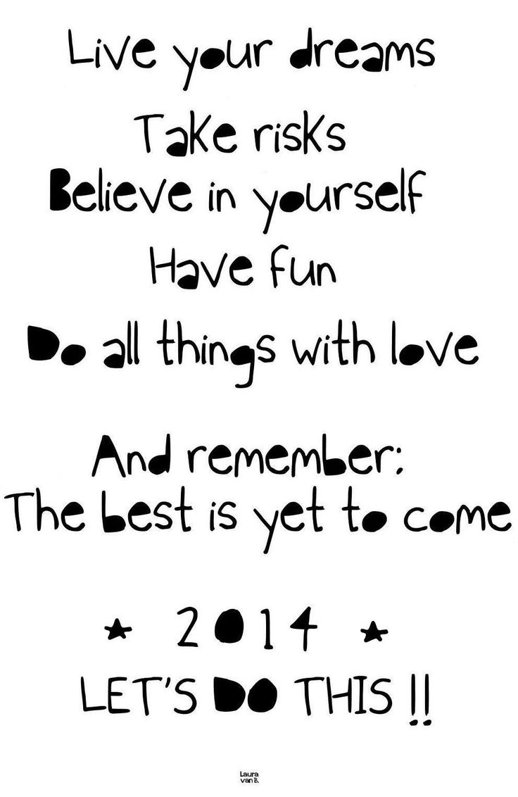 ♥ I wish you all a happy and healthy New Year!