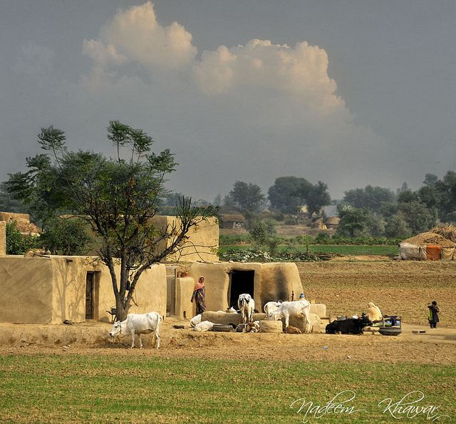 Pueblos del Punjab, by Nadeem Khawar., via Flickr