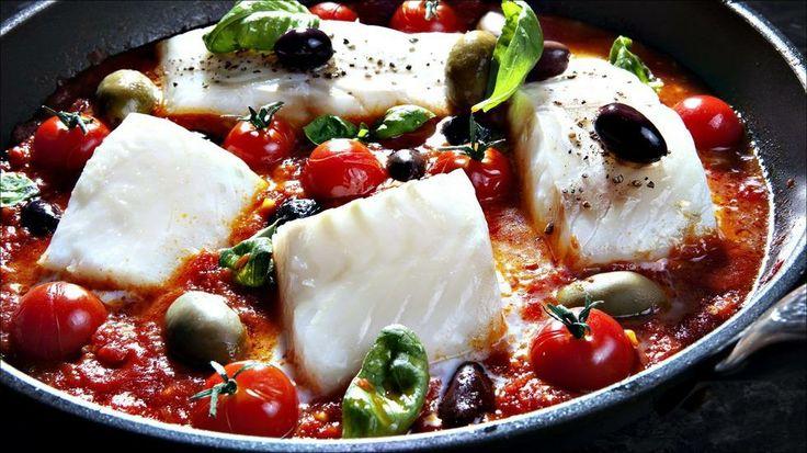 Torsk i tomat - Godt.no - Finn noe godt å spise
