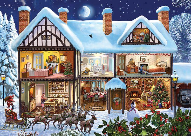 Steve Crisp  — Christmas House,  2013  (1417×1013):