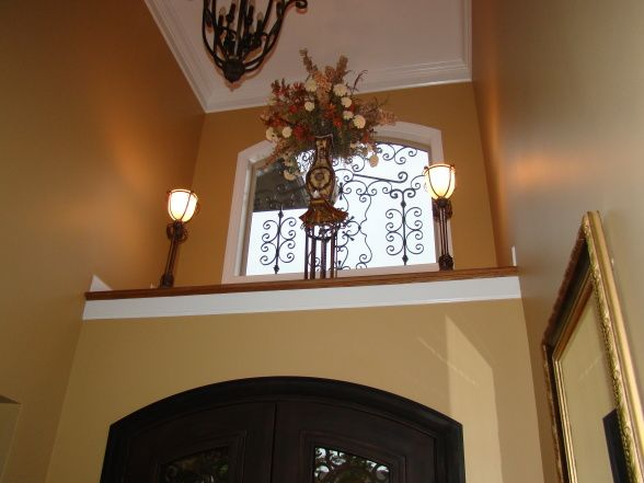 Decorating Foyer Ledge : Best images about front door ledge on pinterest