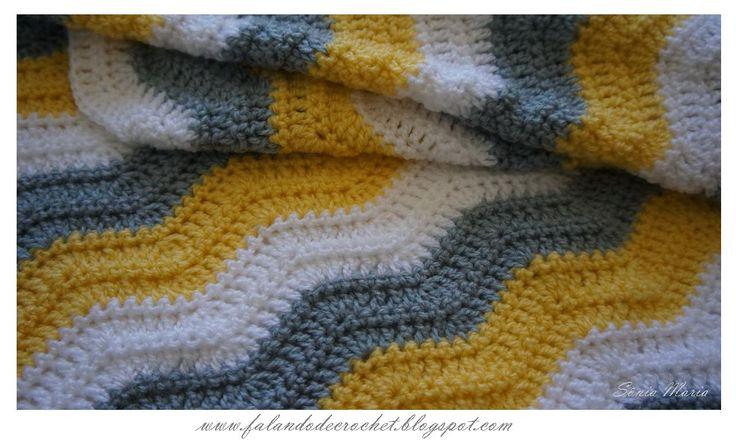 Mejores 9 imágenes de Crochê en Pinterest | Patrones de ganchillo ...