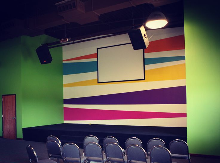 designs for childrens ministry room | Brush Design | HighRidge Church Kids Wing