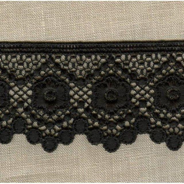 Ruban dentelle perlettes, col. noir La Mercerie Parisienne | La Redoute