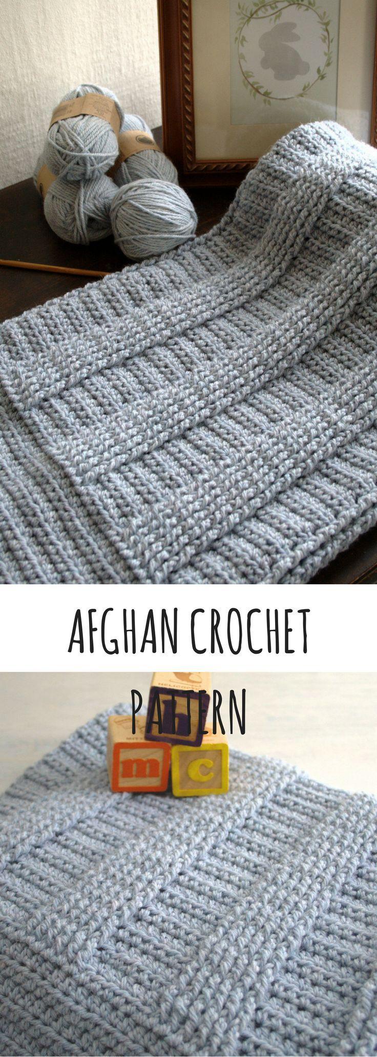 Crochet Pattern - Crochet Afghan Pattern Crochet Baby Blanket Pattern New Baby Girl Pattern DIY Shower Gift - Berry Hedge P127