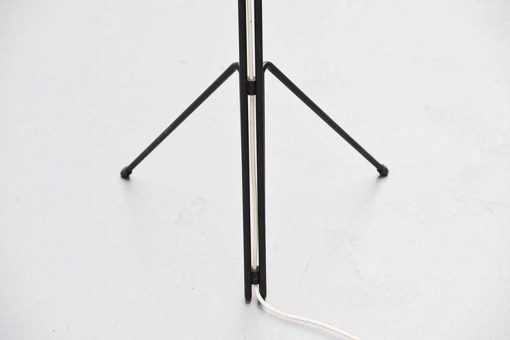 Wim Rietveld 6320 Floor Lamp, Gispen Culemborg, 1953 10