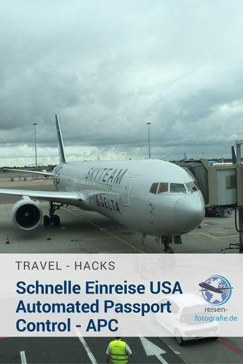APC - Automated Passport Controll - Schneller in die USA einreisen