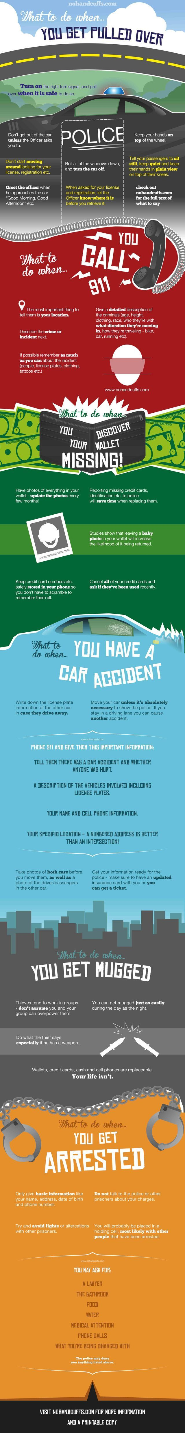 103 best against the tide images on pinterest automobile autos put this infographic in your wallet to know what to do when bad things happen fandeluxe Images