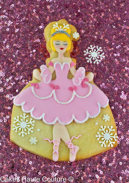 Cakes Haute Couture - El Blog de Patricia Arribálzaga: Tutorial Cookie Bailarina de El Cascanueces