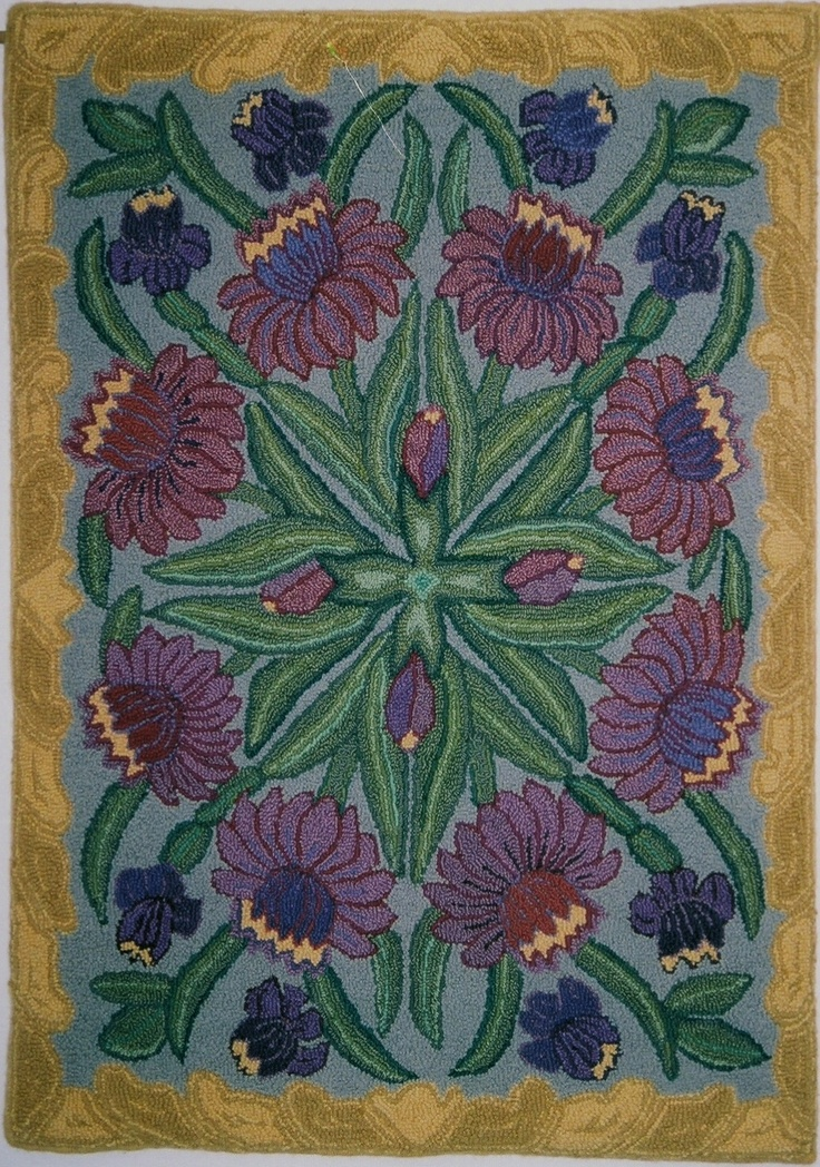 18 best images about arts crafts style rugs on pinterest for Arts and crafts style rug