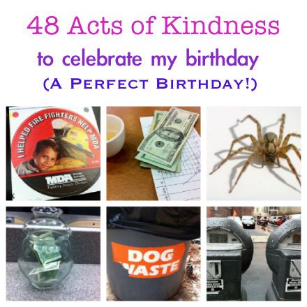48 Random Acts of Kindness to Celebrate My Birthday :: PragmaticMom