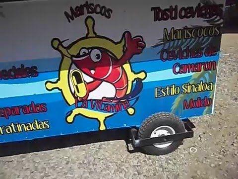 Mariscos Venta y Fabricacion de Carretas oliver food truck