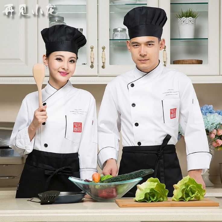 Women Chef Uniform Uniform Promotion Cotton Men Accessories Broadcloth New Long Sleeved Autumn And Winter Kitchen Work Clothes