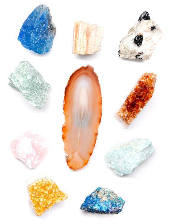 Mineral magnet set