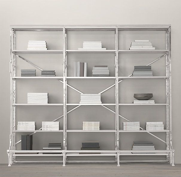 french library triple shelving 590search by image