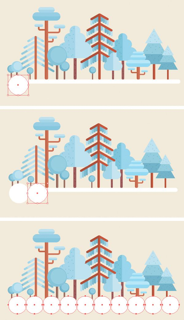 How To Create a Flat Winter Scene in Adobe Illustrator
