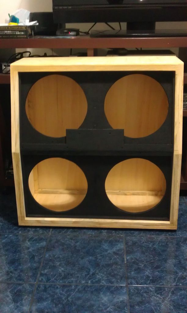 4x12 cab diy pic heavy replace frame for marshall cab pinterest. Black Bedroom Furniture Sets. Home Design Ideas