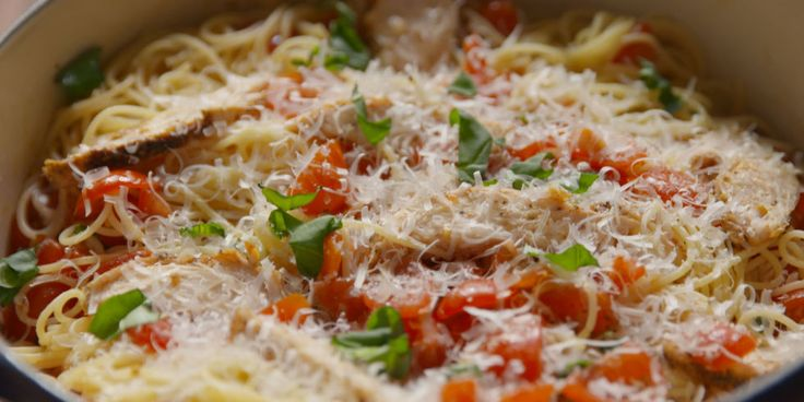 Best Bruschetta Chicken Pasta Recipe - How To Make Bruschetta Chicken Pasta