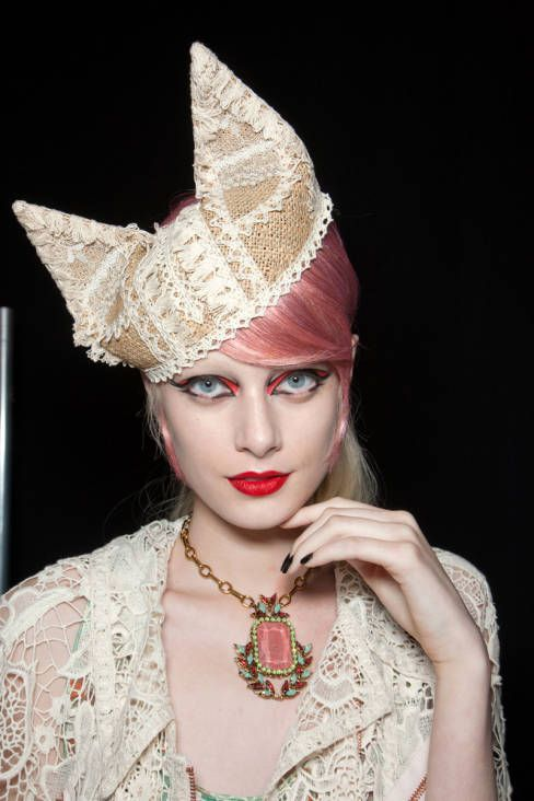 Anna Sui - Spring 2013 Ready-to-Wear