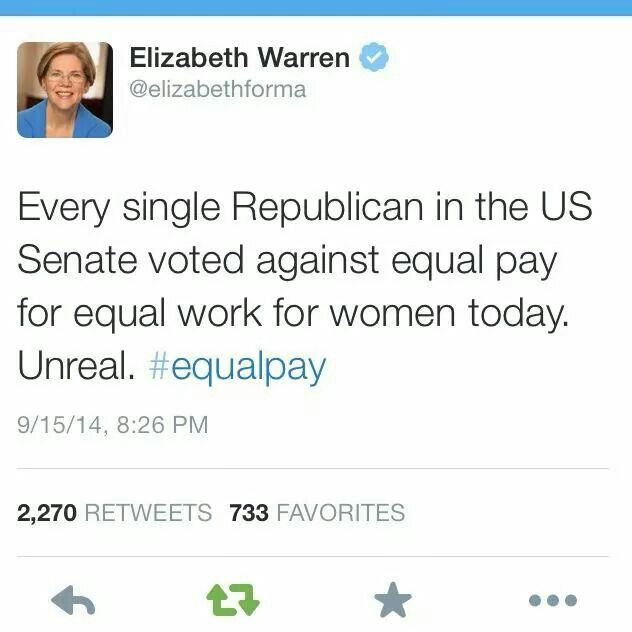 No the wage gap is a myth . The occupation and hours worked aren't taken into account .