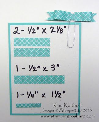 Stamping to Share: 5/31 Paper Bows on Paper Clips with a Video Tutorial!