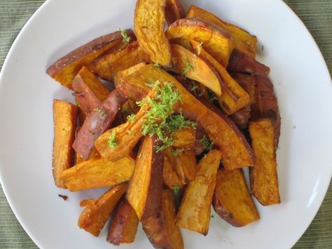 Oven-baked Yam Fries « My Pantry Shelf