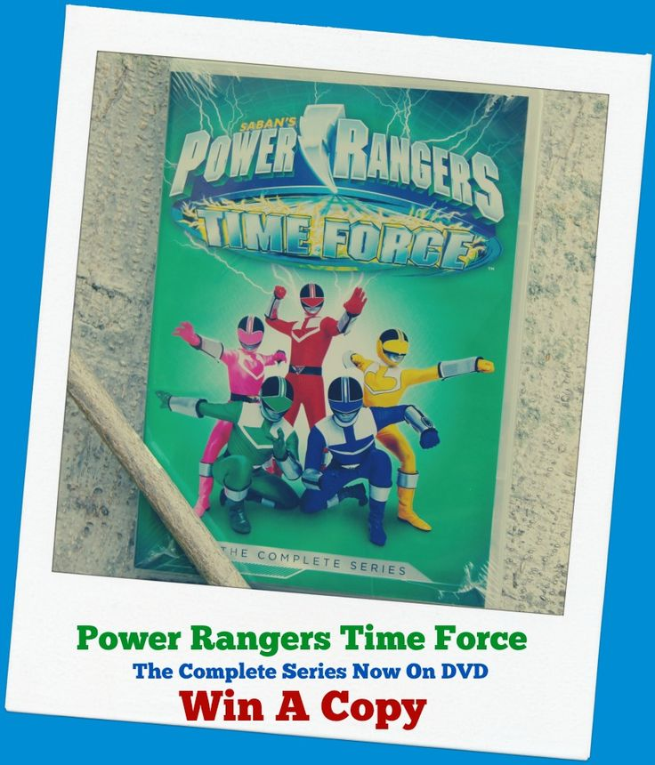 Power Rangers Time Force – Complete Series Now Out on DVD from @shoutfactory  Factory - Enter To #Win Your Copy