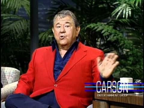 """Buddy Hackett on """"The Tonight Show Starring Johnny Carson"""". What a comedian - still remember his performance in It's a Mad, Mad, Mad World. Oh such a memorable performance. Some really have what it take ...to be in showbizness."""