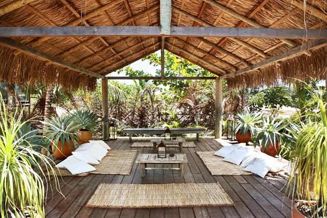 Nestled in the colorful fishing village of Trancoso, on Brazil's idyllic southern Bahian coast, is UXUA Casa Hotel.