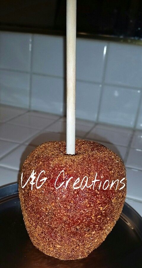 Chamoy candy apple
