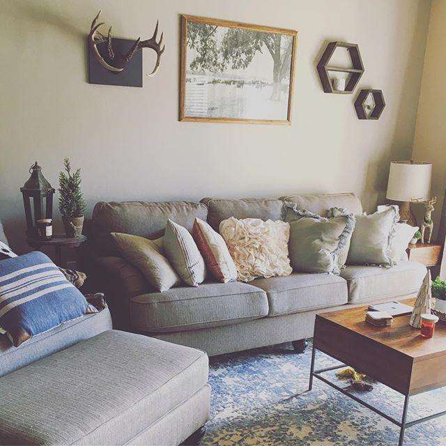 Hariston Sofa by Ashley HomeStore, Gray, Polyester (100 % ...