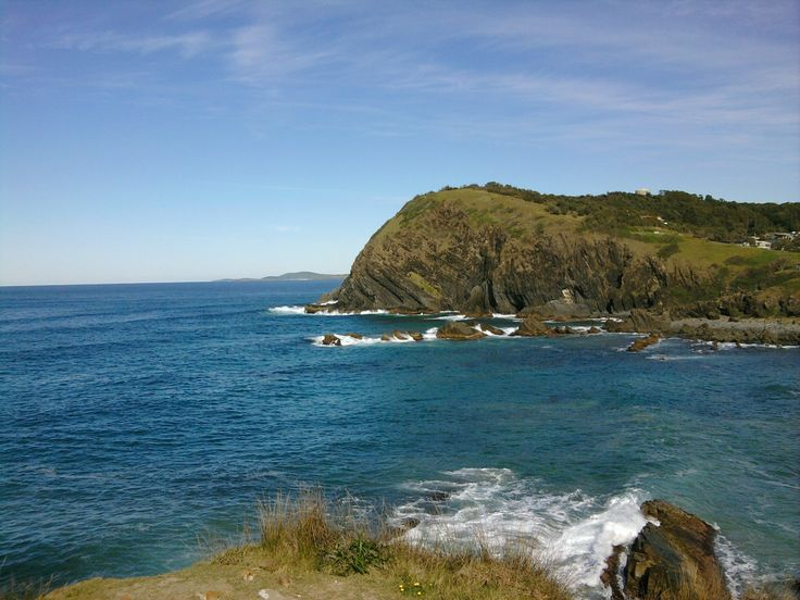 The lovely holiday environment at Crescent Head Coast on the Mid North Coast of New South Wales Australia Ne